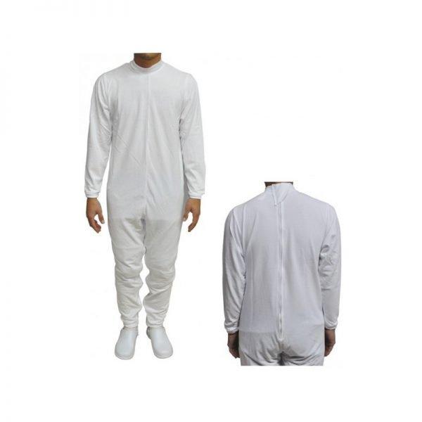 pijama antipañal con cremallera