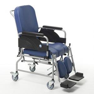 silla de interior con asiento y respaldo acolchados