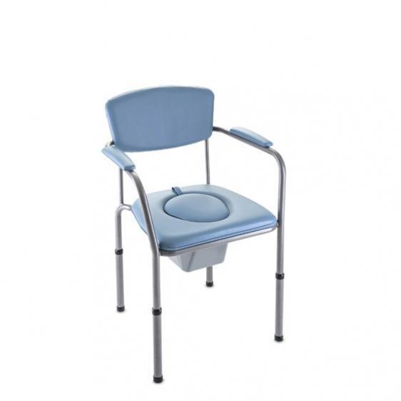 silla wc para dormitorio regulable en altura