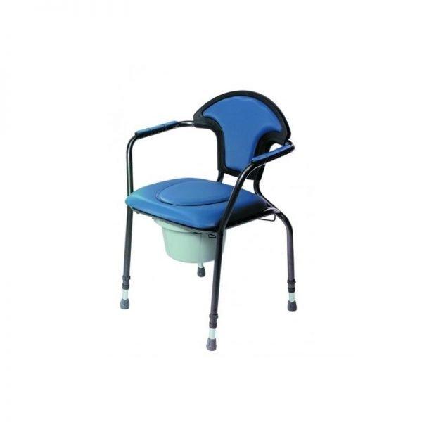 silla wc dormitorio graduable en altura